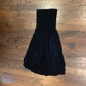 International Concepts Black Maxi Dress